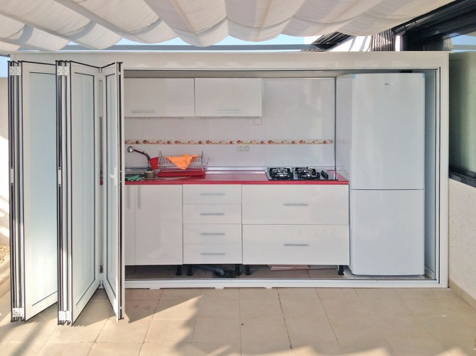 Trastero o cocina garbinet instalaciones y obras for Trasteros para terrazas